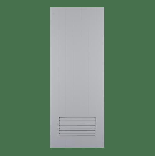 CHAMP ประตูPVCแชมป์ ขนาด (70X180) (ไม่เจาะ) M-2 สีเทา