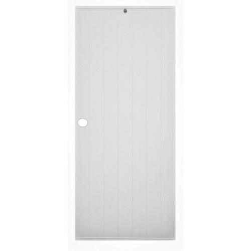 CHAMP ประตู ขนาด  80X200ซม.   M-1 สีเทา