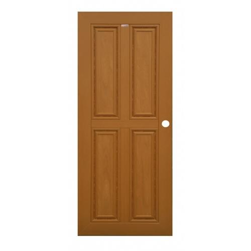 CHAMP ประตู ขนาด (80x200)ซม. M-WPC-2 สีสักทอง