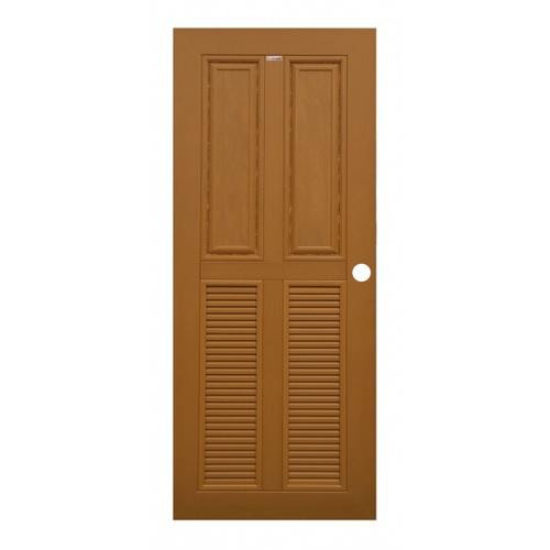CHAMP ประตูแชมป์ 80x200 M-WPC3 สีสักทอง M-WPC3