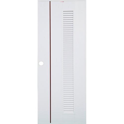 CHAMP ประตู idea  ขนาด 70x180cm. สีขาว/โอ๊คแดง uPVC-6 สีขาว