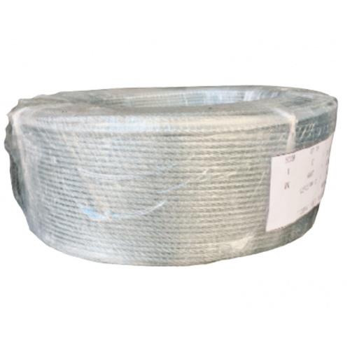 - ลวดสลิง 4.5มม. 7 x 7 IWRC (ใส้เหล็ก) 200ม./ม้วน -