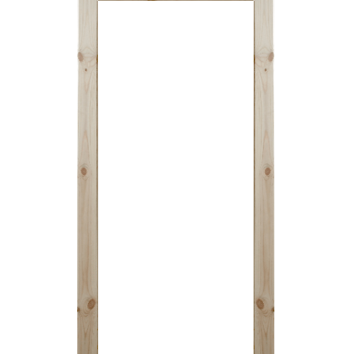 WINDOOR ชุดซับวงกบประตูไม้เรดวูด ขนาด 100x200 ซม. (1.5x4.8ซม.) Com 1  ไม้ธรรมชาติ