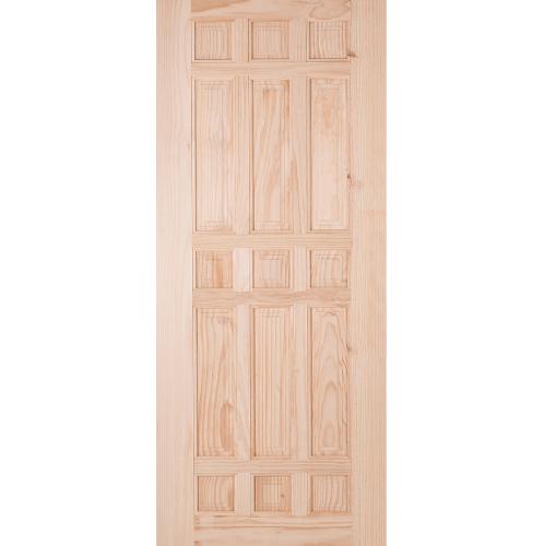 WINDOOR ประตูลวดลาย CE 119 เหลืองอมขาว