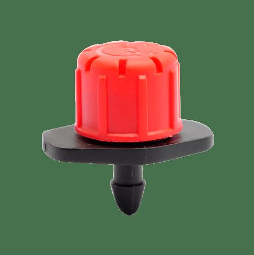 Super Products หัวน้ำหยด ปรับปริมาณน้ำได้ 1-120ลิตร(50/Pack) B-DRIP สีส้ม