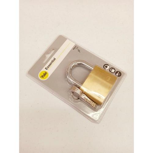 YALE กุญแจคล้อง ห่วงคล้องเหล็ก ขนาด  60 มม. YE1/60/132/1