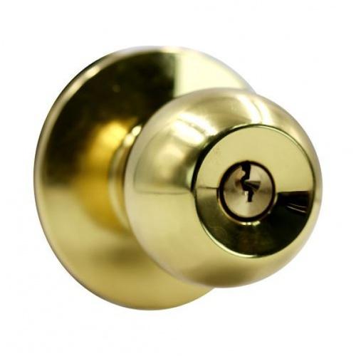 YALE ลูกบิดประตู KN-VCA5227US3 ทองเหลืองเงา