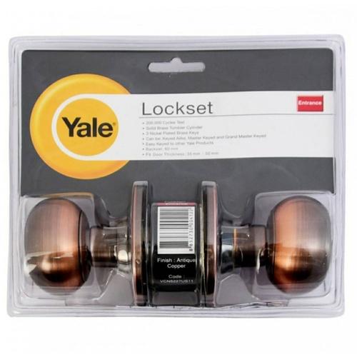YALE ลูกบิดประตู KN-VCN5227US11