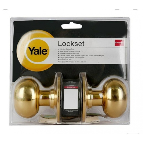 YALE ลูกบิดประตู KN-VOV5227US3