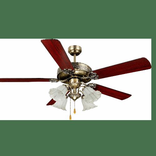 STARLIGHT พัดลมโคมไฟ ML-552-4L-AB ทองรมดำ