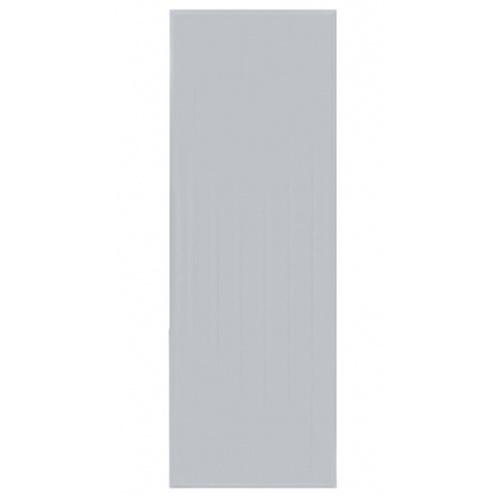BATHIC ประตูพีวีซี ขนาด  90x200ซม. (ไม่เจาะรูลูกบิด) BC1 สีเทา