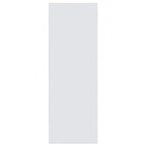 BATHIC ประตูพีวีซี (ไม่เจาะรูลูกบิด) ขนาด 74x196ซม. BC1 สีขาว