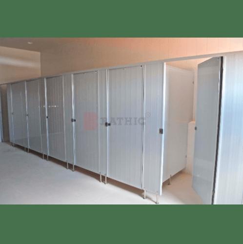 BATHIC ผนังห้องน้ำพีวีซี แผงพาร์ทิชั่น   ขนาด 171.5x120 cm.  สีครีม