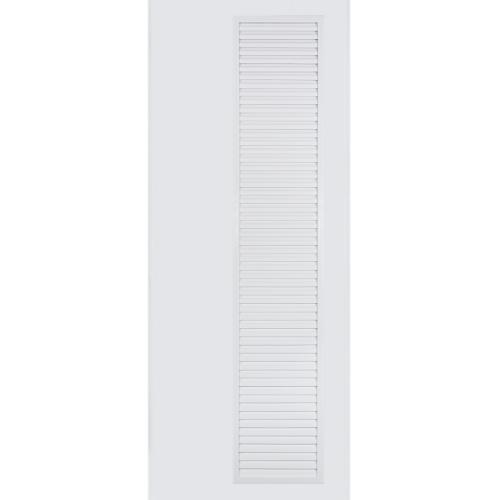 BATHIC ประตูพีวีซี  ขนาด 70x200ซม. (ไม่เจาะรู) BC5 ขาว