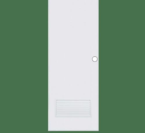 BATHIC ประตูพีวีซี ขนาด 70x197ซม. BC2 (เจาะรูลูกบิด) ขาว