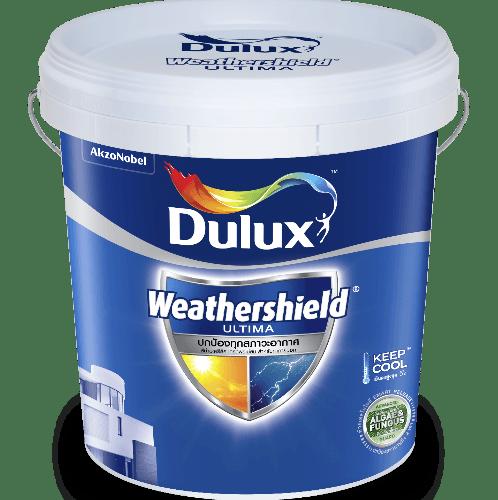 Dulux ดูลักซ์เวเธ่อร์ชีลด์อัลติม่า(กึ่งเงา)เบส A 9L Weathershield Ultima (Semi-Gloss)