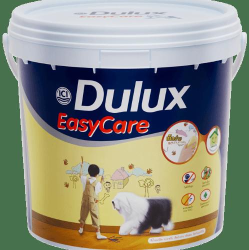 Dulux ดูลักซ์ อีซี่แคร์ กึ่งเงา เบส C  EasyCare  ขาว