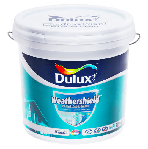 Dulux ดูลักซ์เวเธ่อร์ชีลด์ไฮโดรเฟรช เบสA Weathershield Hydrofresh ขาว