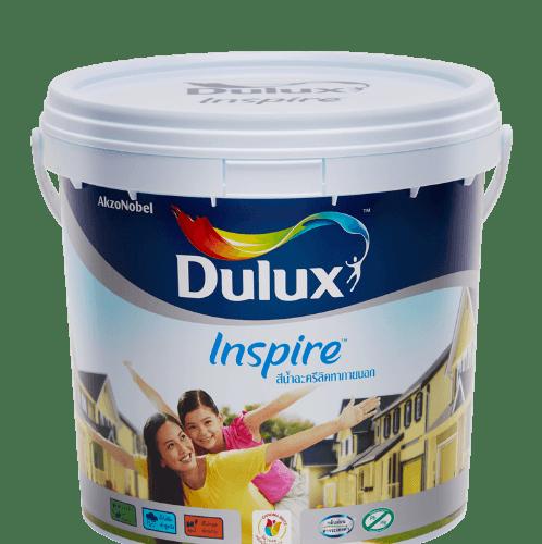 Dulux สีน้ำผสมภายนอก เบส B  Inspire Exterior ขาว