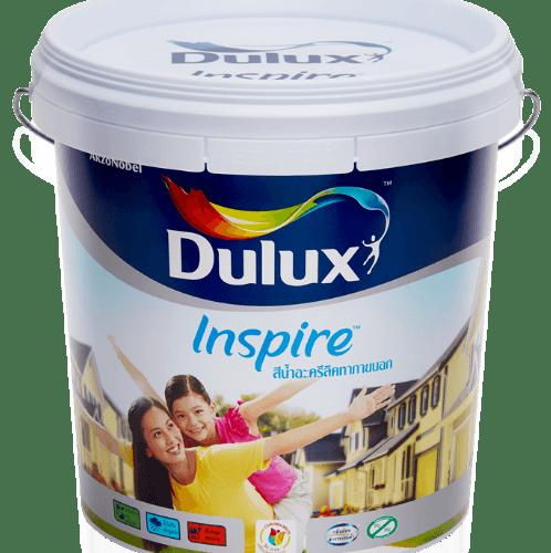 Dulux สีน้ำผสมภายนอก เบส C Inspire Exterior  ขาว