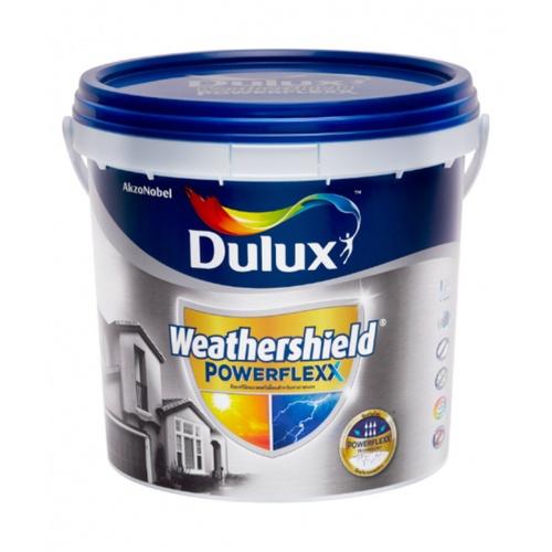 Dulux เวเธอร์ชีลด์พาวเวอร์เฟล็ก กึ่งเงา เบสB  ขนาด 3 ลิตร