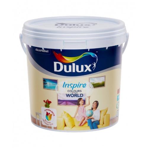 DULUX ดูลักซ์อินสไปร์ภายใน กึ่งเงา เบสB 3L INSPIRE สีขาว