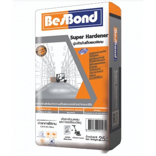 BESBOND ปูนขัดมันแข็งแรงพิเศษ SUPER HARDENER  25 KG สีเทา