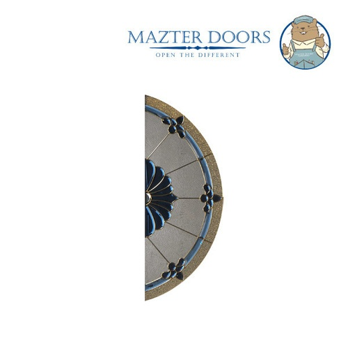 MAZTERDOOR ประตูไม้เรดเมอร์รันตี   ขนาด 80x200 cm. VANDA-06