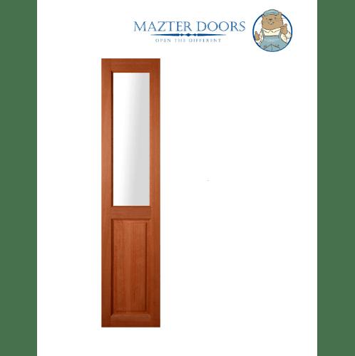 MAZTERDOOR  ประตูไม้เนื้อแข็ง (ไม่มีกระจก)ขนาด 40x200ซม. SL