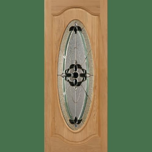 Masterdoors ประตูไม้นาตาเซีย  ขนาด 90x200 cm. Orchid-06