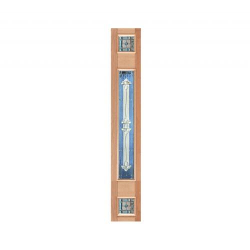 MAZTERDOOR ประตูไม้จาปาร์การ์ ขนาด  40x265 cm. Jasmine-09 upper side