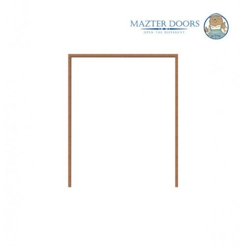 MAZTERDOOR วงกบไม้เต็ง  ขนาด 160 x 200 cm.