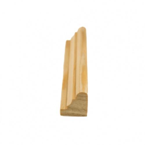 MAZTERDOOR คิ้วตกแต่ง-ไม้สัก 3/4x3/4x6 ฟุต M.0515