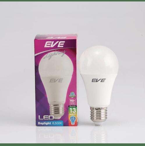 EVE หลอดแอลอีดี A60 13วัตต์ เดย์ไลท์ E27 LED A60 13W Daylight E27 ขาว