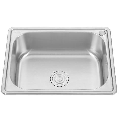AXIA อ่างล้างจาน 1 หลุมไม่มีที่พัก PP 6046