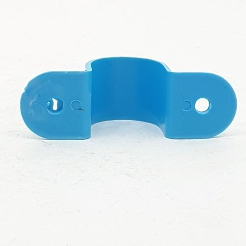 Number One กิ๊บจับท่อ 1/2 นิ้ว (แพ็ค 20) สีฟ้า