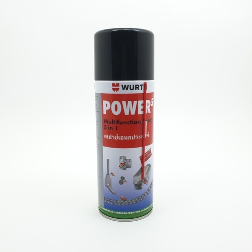 WUERTH น้ำยาเอนกประสงค์ 5 ประการ Power 5 ขนาด 400 ml 400 ml