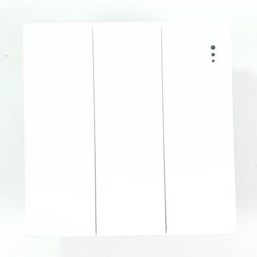 Gentec สวิตซ์ทางเดียว 3 ช่อง 86W-05  สีขาว