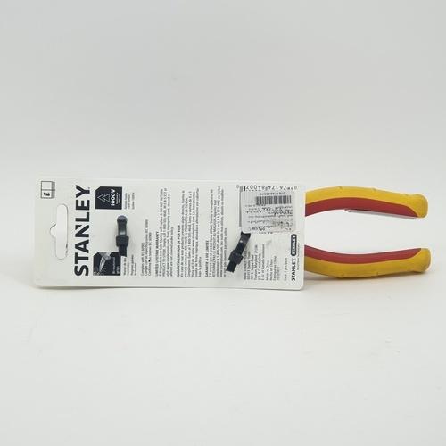 STANLEY คีมปากแหลมหุ้มฉนวนกันไฟ 8นิ้ว  84-007