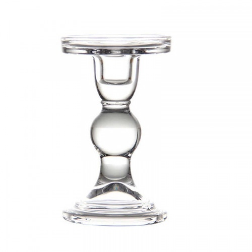 COZY เชิงเทียนแก้ว ขนาด  8.5x13.5ซม. Candella-L