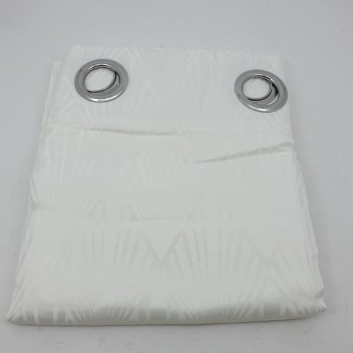 Davinci ผ้าม่านหน้าต่างพิมพ์ลาย ขนาด 140x160ซม. A71798RR #1WD สีขาว
