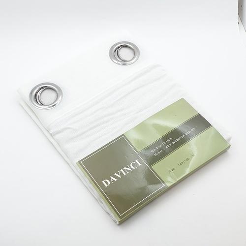 Davinci ผ้าม่านหน้าต่าง ARK-WS2012A-027-W1 สีขาว