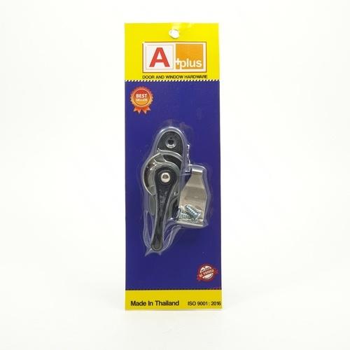 A-Plus มือจับล๊อคกลางบาน   R/L  สีดำ