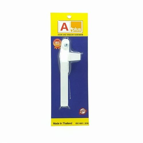 A-Plus มือจับบานกระทุ้ง (ไม่มีรู)  L สีขาว