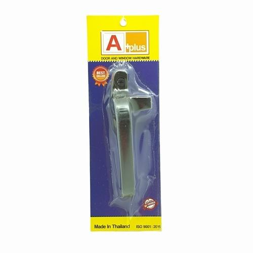 A-Plus มือจับบานกระทุ้ง (ไม่มีรู)  L สีชา