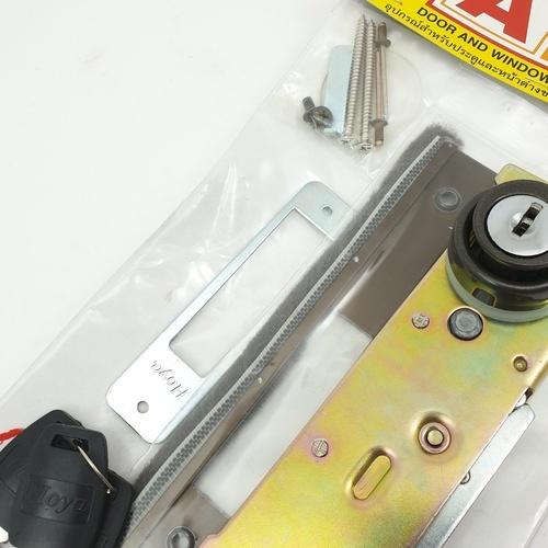 A-Plus กุญแจสวิงบิด สีชา -
