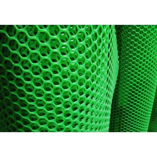 POLLO  ตาข่ายพลาสติก หกเหลี่ยม 12มม.180ซมx10 เมตร. LXPN18012G สีเขียว