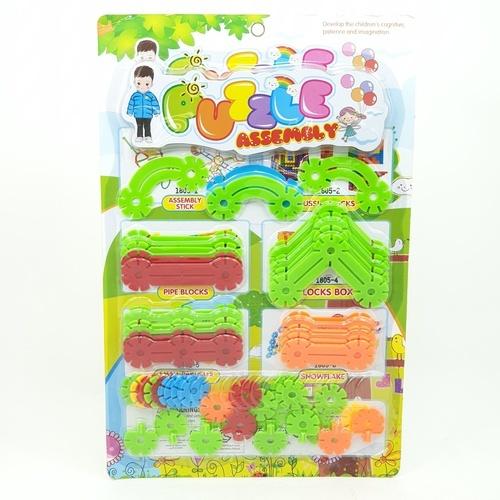 Sanook&Toys  ชุดบล็อค Flower piece  290188