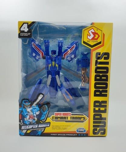 Sanook&Toys  ชุดหุ่น transformers 4 mix  298314 สีส้ม