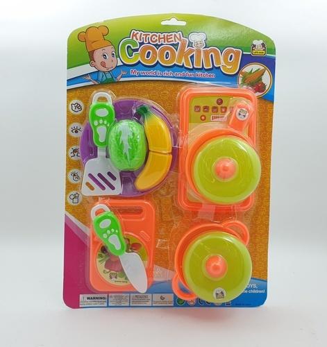 Sanook&Toys ของเด็กเล่นชุดครัว 296427 สีชมพู